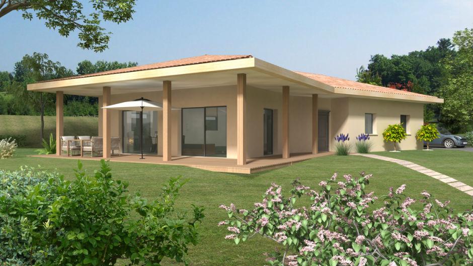 Souvent CORA - 3 chambres - Plain pied - 115 m² - Constructeur de maison  UR74